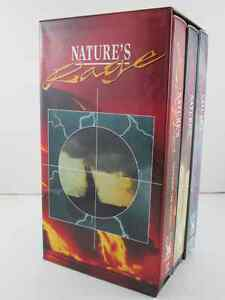 Nature's Rage 3 VHS Tape Set New