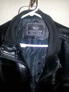 Italian leather coat...selling everything to get my son back.. London Ontario image 1