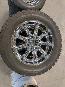 Good Condition Tires and Rims for Sale
