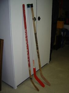 Hockey sticks (2)
