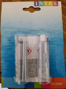 Intex Recreation 59632EP Swimming Pool Vinyl Repair Kit