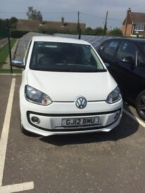 VW UP! White edition