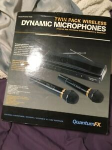 Twin pack microphones