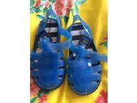 Boys next jelly shoes size 4