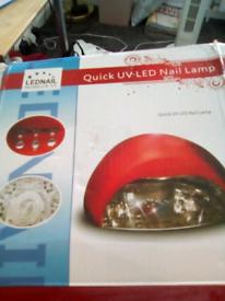 Led nails dryer