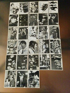 The Beatles Canada 1964 B&W Cards/Cartes N&B Series 2