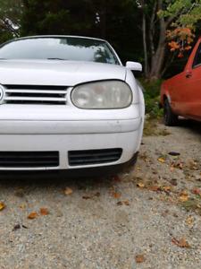 2001 Volkswagen Golf 2 Door Diesel 5 Speed