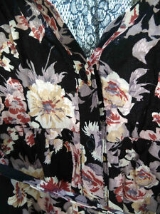 Flowered Dress with Lace Back London Ontario image 4