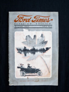 1913 Ford Times Magazine