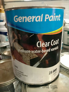 CLEAR COAT VARNISH (1 gallon cans)