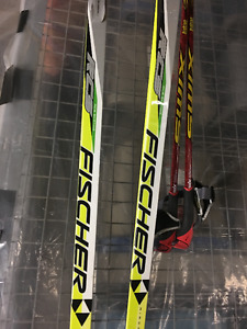 Cross Country – RCE Skating Fischer Skis, bindings and poles