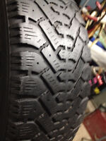 Set of 2 NORDIC Winter tires 185 /60/14 call;(514)777-6421