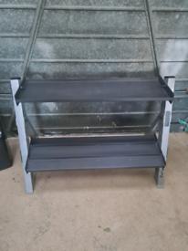 Weight rack - dumbbell & kettlebell