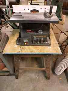 Craftsman 1.5 HP spindle shaper