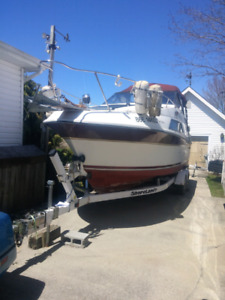 Carved Montego 26' 1987 with trailer