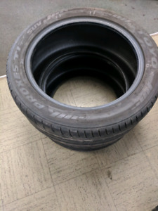 Pair of 275/45/R19 toyo tires