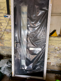 UPVC door and frame brand new