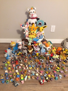 Huge Pokemon Collection Lot (Plushies and Figurines)