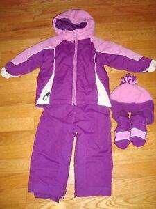Children's Place girls 3pc snowsuit (sz 24mo)