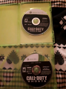 XBOX 360 Call of Duty Games