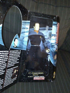 """Playmates 12"""" Special Collector's Edition Star Trek Lt."""