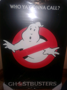 Ghostbusters mounted poster!