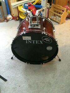 Intex Bass Drum.