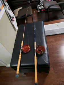 Trolling Rods for Downriggers