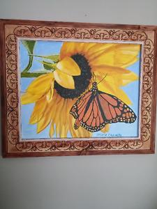 peinture de l'artiste peintre Sylvie Charette