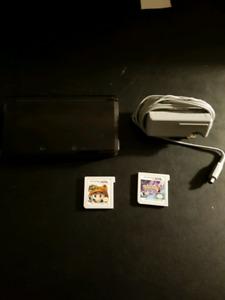 Nintendo 3ds 1st gen with 2 games