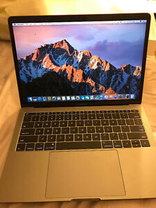 "MacBook Pro 13"" model - gray color"