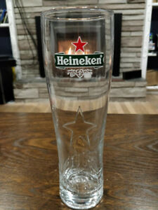 HEINEKEN BEER GLASSES -0.5LITER - LIKE NEW
