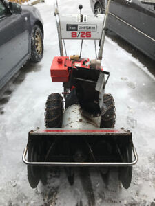 SNOWBLOWER ELECTRIC START 26""