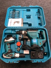 Combi Hammer Drill and cordless drill Set NEW