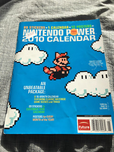 Nintendo Power Calendrier + Posters 2010