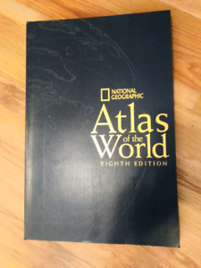 National Geographic world atlas 8th edition.