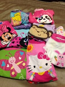 Baby girls 2 pc pjs 8 pairs 24 months