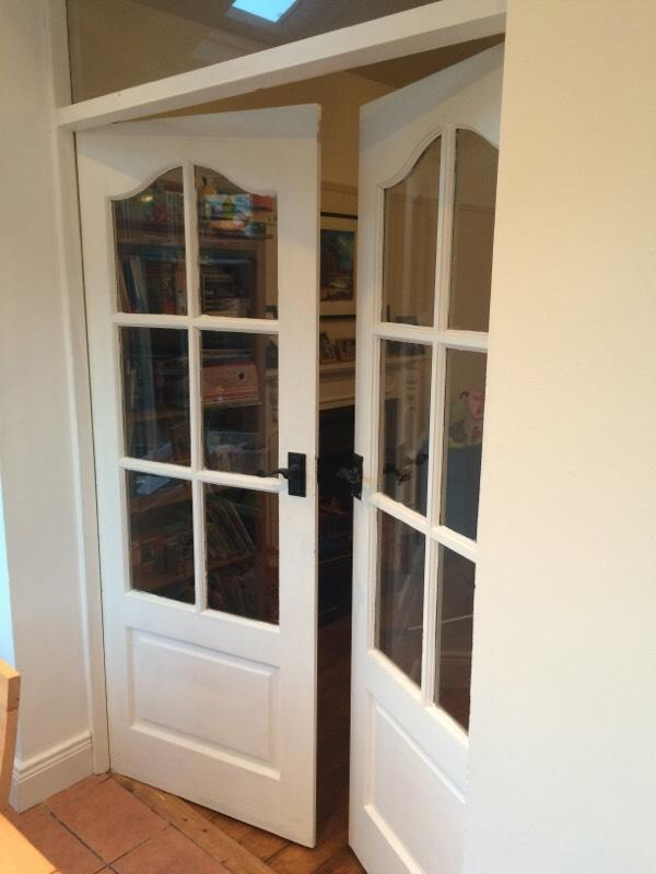 Solid wood french doors in ormeau road belfast gumtree for Solid wood french doors