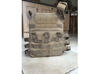 |Urgent| Emerson tan airsoft plate carrier