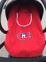 Infant carrier cover Montreal Canadiens