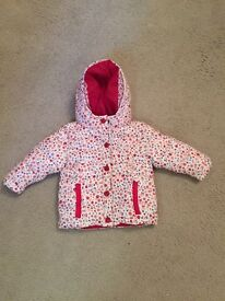 Paul Smith Baby Girls Jacket 9 months