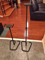 Height Adjustable Metal Stands with Adjustable Grips