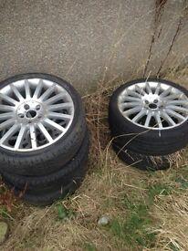 4 x ford mondeo ST wheels 18x7