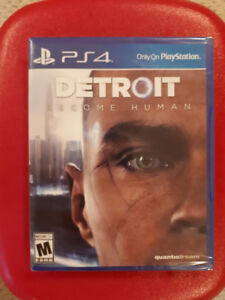DETROIT : BECOME HUMAN (PS4) BRAND NEW SEALED
