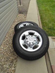 Michelin Truck Tires and Chrome Rims - Exceptional Deal !