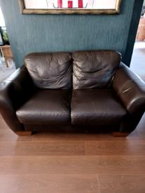 Leather effect sofa Free