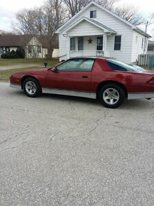 Rare Classic Camaro Z-28 Barn find !! Iroc Package , 5 Speed