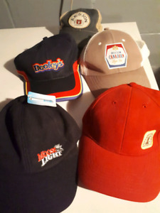 Five different hats all five $15