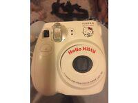 Fujifilm instant Polaroid camera (Limited Hello kitty edition)