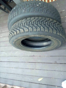 Winter tires 155 80 R13 ( good year )